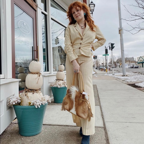 Dior Jackets & Blazers - Christian Dior vintage pantsuit